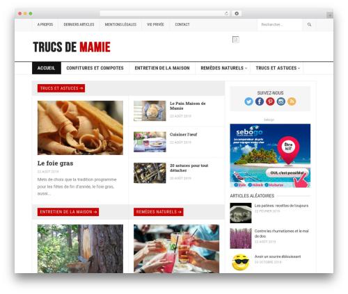 GoodPress Pro WordPress theme - lestrucsdemamie.com