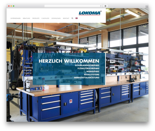 Template WordPress Domik - lokoma.de