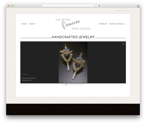 base theme WordPress - lizandronjewelers.com