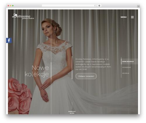 Bellissima WordPress theme - bellissima.pila.pl