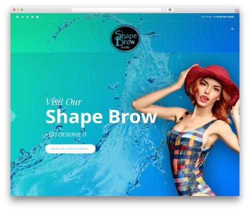 Beyoutiful top WordPress theme - shapebrow.com