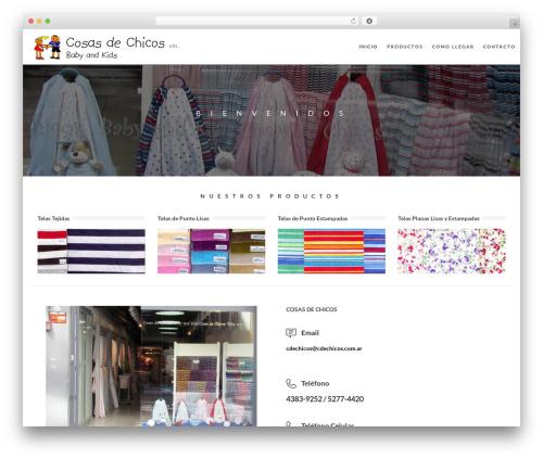 jupiter premium WordPress theme - cdechicos.com.ar