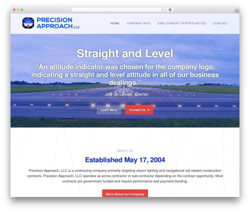 WordPress theme Genesis - precisionapproach.org