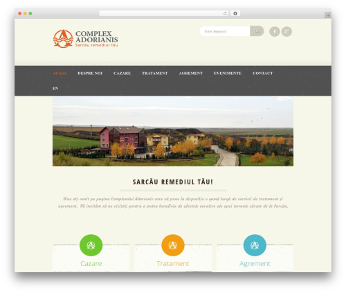 WP template Dream Spa - complex-adorianis.ro
