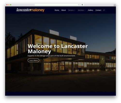 Divi WP theme - lancastermaloney.co.uk