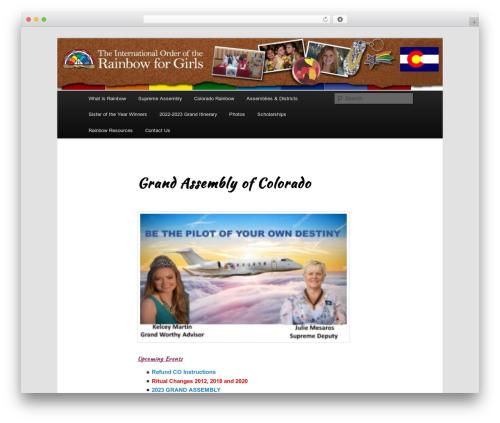 Twenty Eleven free WordPress theme - iorgcolorado.org