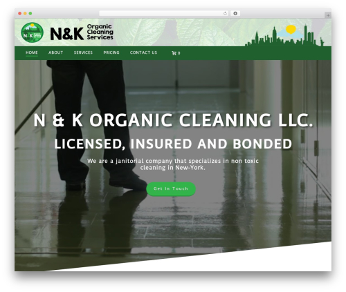 WordPress theme Jupiter - nandkorganiccleaning.com