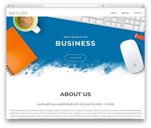 WordPress theme Superb - loodoobit.com