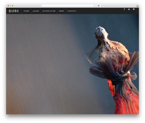 WP Omnia WordPress theme design - deciozoffoli.it
