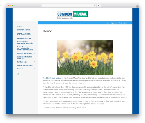 Divi WP theme - commonmanual.org