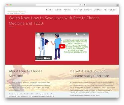 MedCare WP template - freetochoosemedicine.com
