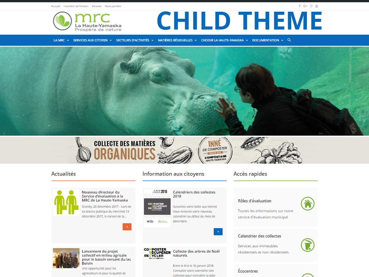 OceanWP Child 02 WordPress blog template