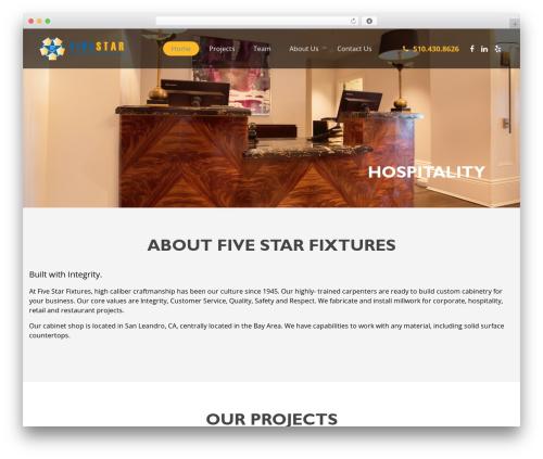 Template Pixelwebsource theme WordPress - fivestarfixtures.com