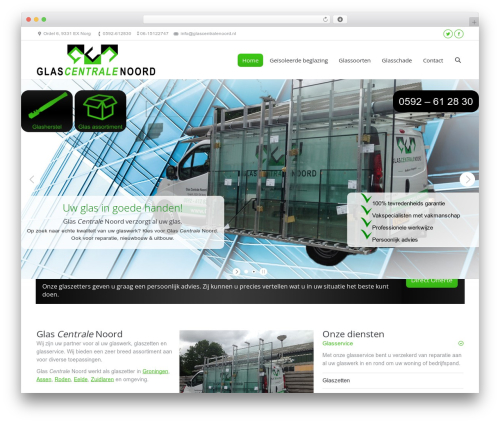 The7 WordPress theme - glascentralenoord.nl