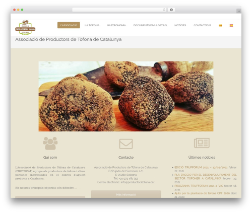 Theme WordPress edsbootstrap - productorstofona.cat