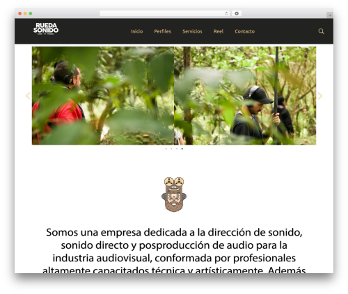 WordPress template filmic - ruedasonido.com