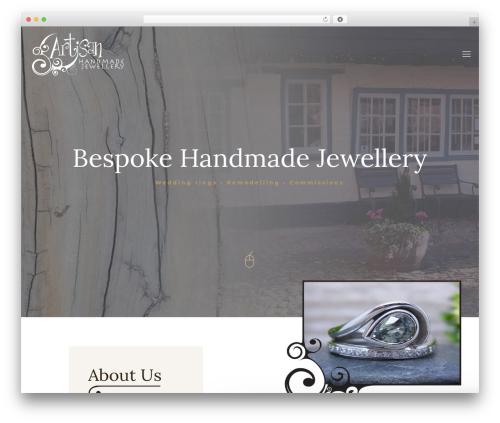 WordPress theme Betheme - artisan-jewellery.com