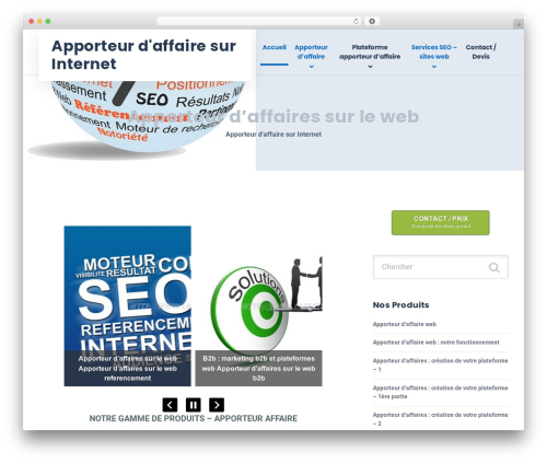 WordPress theme GrowthPress PT - lafeste.fr
