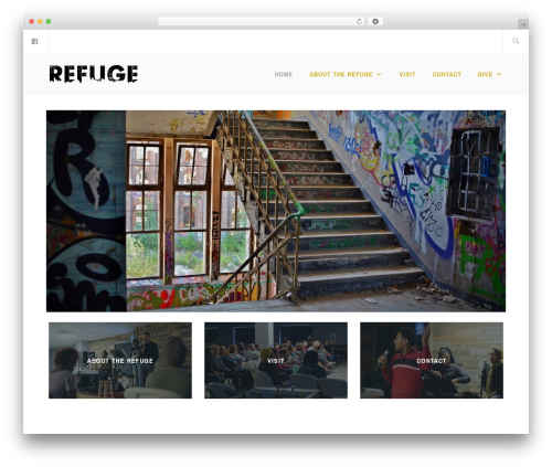 Best WordPress theme Ixion - therefuge.place