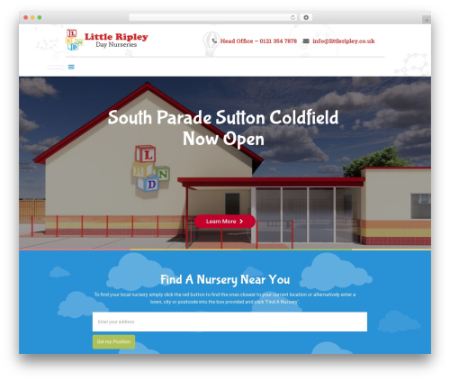 Betheme company WordPress theme - littleripley.co.uk