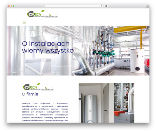 Betheme WordPress theme design - esi-tech.pl