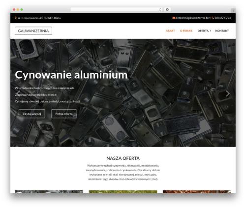 Factory Crazycafe WordPress theme - galwanizernia.biz