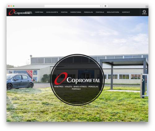 Movedo WordPress theme - coprometal.com