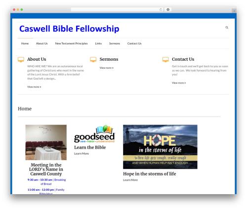 Speedy WordPress theme download - caswellbiblefellowship.org