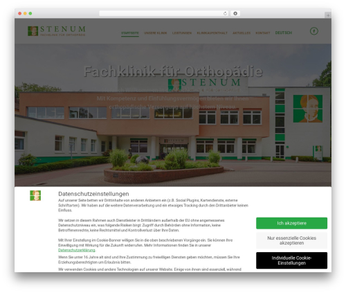 Template WordPress The7 - stenum-ortho.de