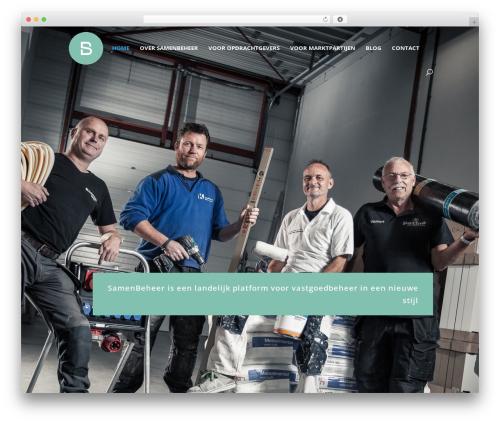 Best WordPress theme Divi - samenbeheer.nl