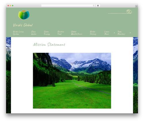 Handdrawn-lite best free WordPress theme - viridisglobal.org