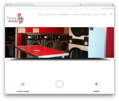 Jomelle WordPress theme - location-linge-laverie-iledere.com