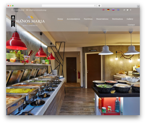 The7.2 WordPress theme - manosmariahotel.gr