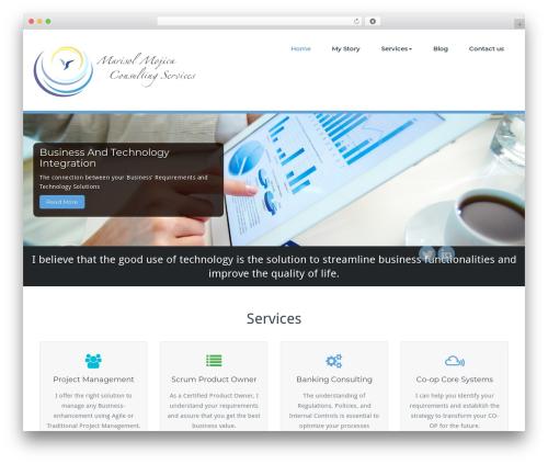 WordPress template BusiProf Pro - mcgnetwork.com