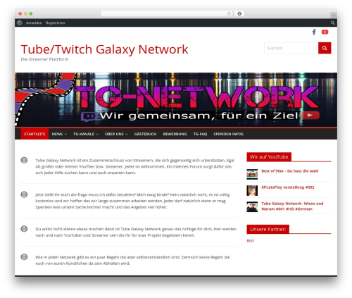 ColorMag free WP theme - tg-network.org