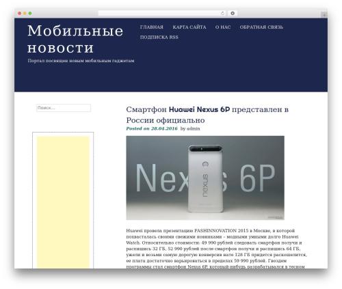 eyesite free WordPress theme - rzkk.ru