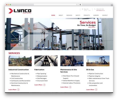 Mega Project top WordPress theme - lynco.ca