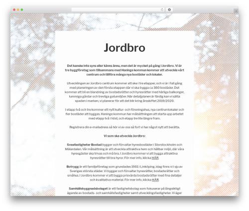 Twenty Seventeen WordPress theme free download - jordbro.com