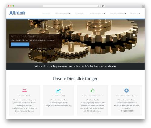 WordPress theme BusiProf Pro - altronik.de