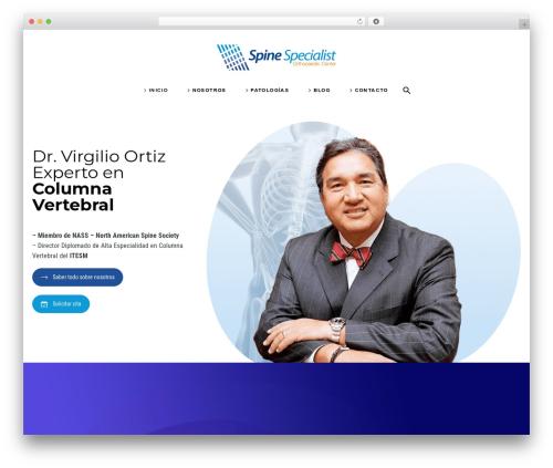 WordPress vc-super-bundle plugin - spinespecialist.mx