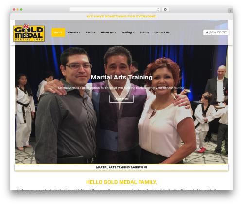 weblocal2018 WordPress template - goldmedalsaginaw.com