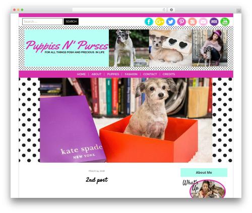 Theme WordPress Lucy and Lane - Premium - puppiesandpurses.com