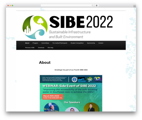Twenty Eleven WordPress template free download - sibe.itb.ac.id