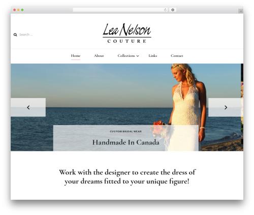Blossom Fashion fashion WordPress theme - leanelson.com