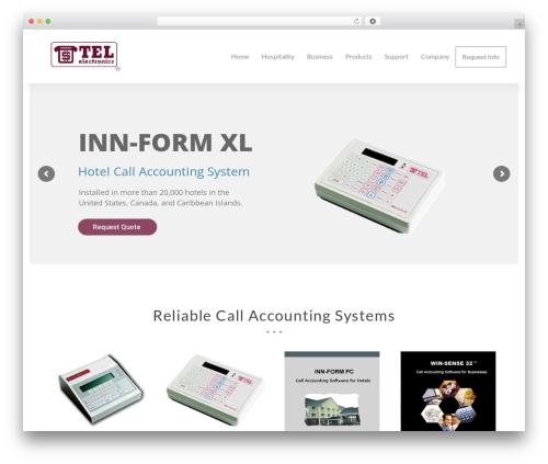 Total free WordPress theme - tel-electronics.com