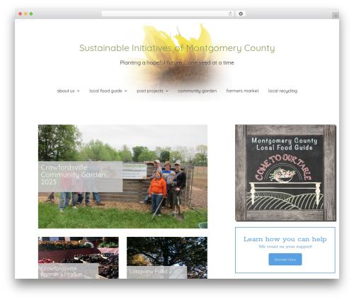 Creativo Theme top WordPress theme - sustainmc.org