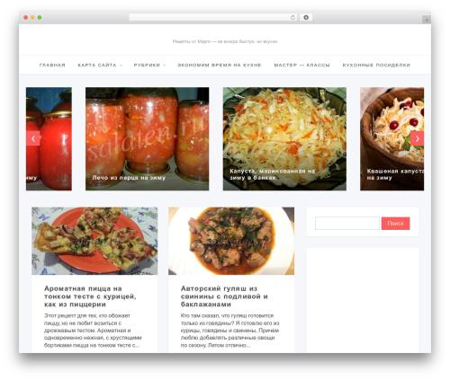 Template WordPress Simpatika - salaten.ru