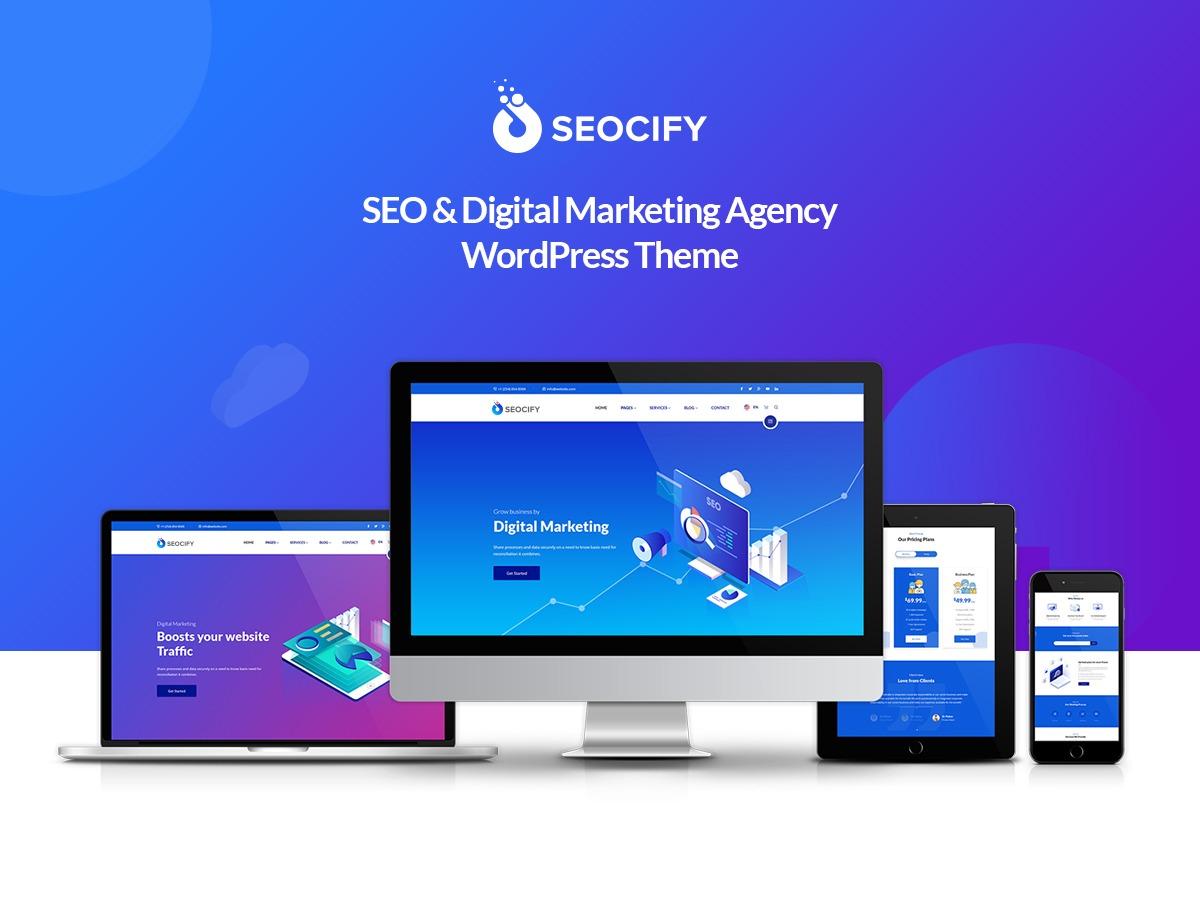 Theme WordPress Seocify