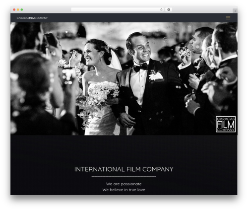 Betheme WordPress template for business - caracasfilmcompany.com