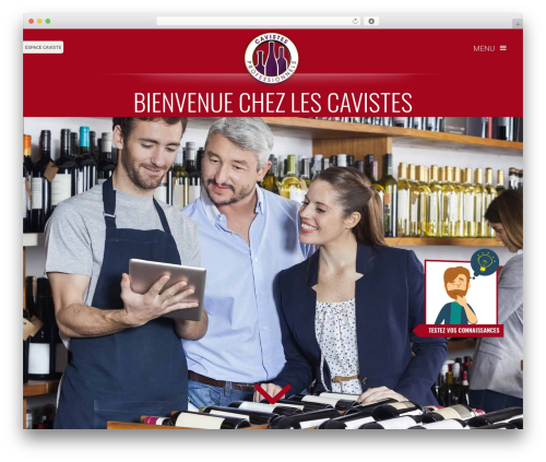 Betheme WordPress theme - cavistesprofessionnels.fr